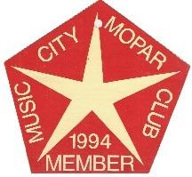 1994 Member Placard