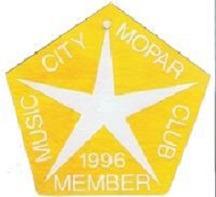 1996 Member Placard