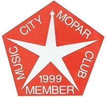 1999 Member Placard
