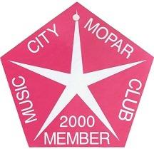 2000 Member Placard
