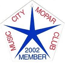2002 Member Placard