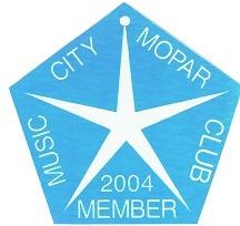 2004 Member Plaque