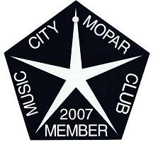 2007 Member Placard