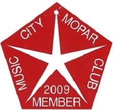 2009 Member Placard