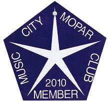 2010 Member Placard