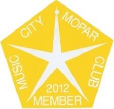 2012 Member Placard