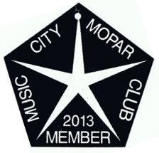 2013 Member Placard