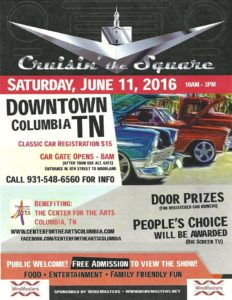 Cruzin for the Music-2016-2