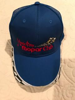 Club Cap - Blue - Pickup at Club Meeting