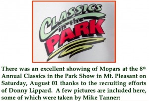 2015 -08-01 Classics in the Park1